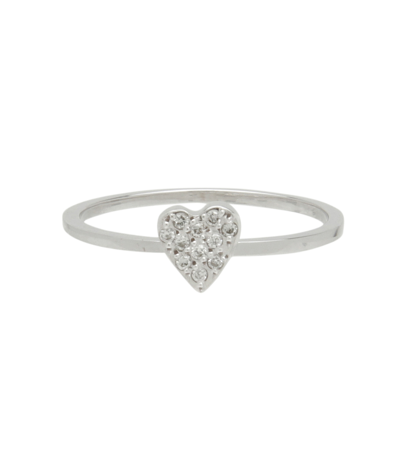 Ileana Makri(イリーナ マクリ)のLove Ring White Gold-Diamond-SILVER(リング/ring)-O272-01-001-1 拡大詳細画像1
