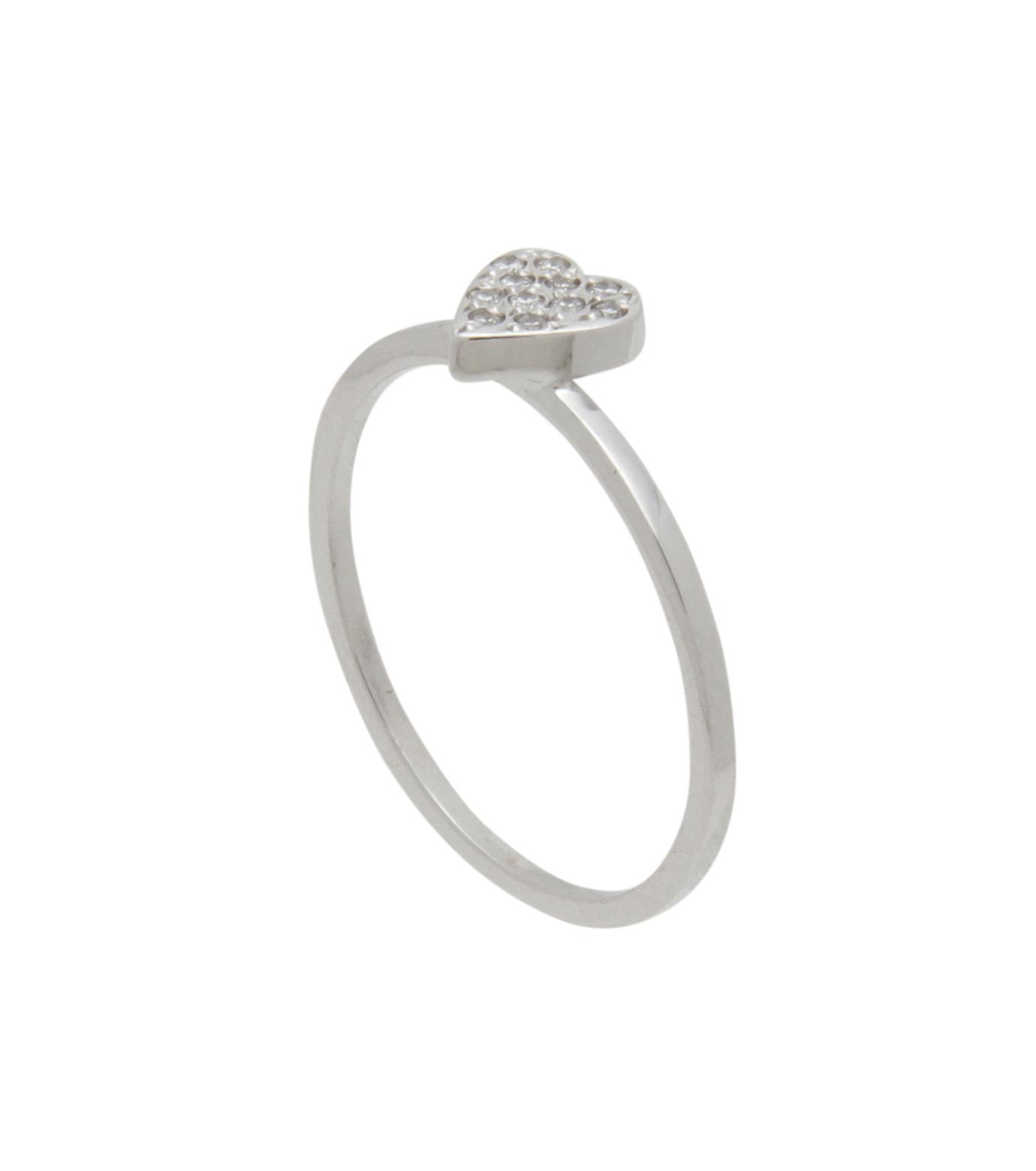 Ileana Makri(イリーナ マクリ)のLove Ring White Gold-Diamond-SILVER(リング/ring)-O272-01-001-1 拡大詳細画像2