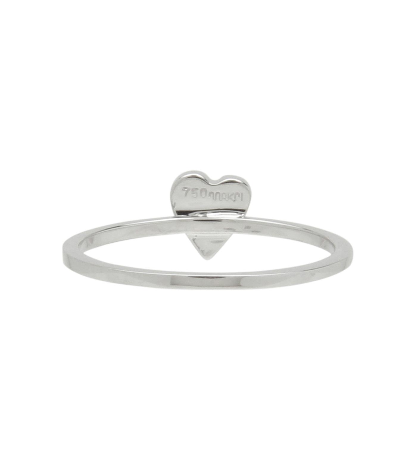 Ileana Makri(イリーナ マクリ)のLove Ring White Gold-Diamond-SILVER(リング/ring)-O272-01-001-1 拡大詳細画像3