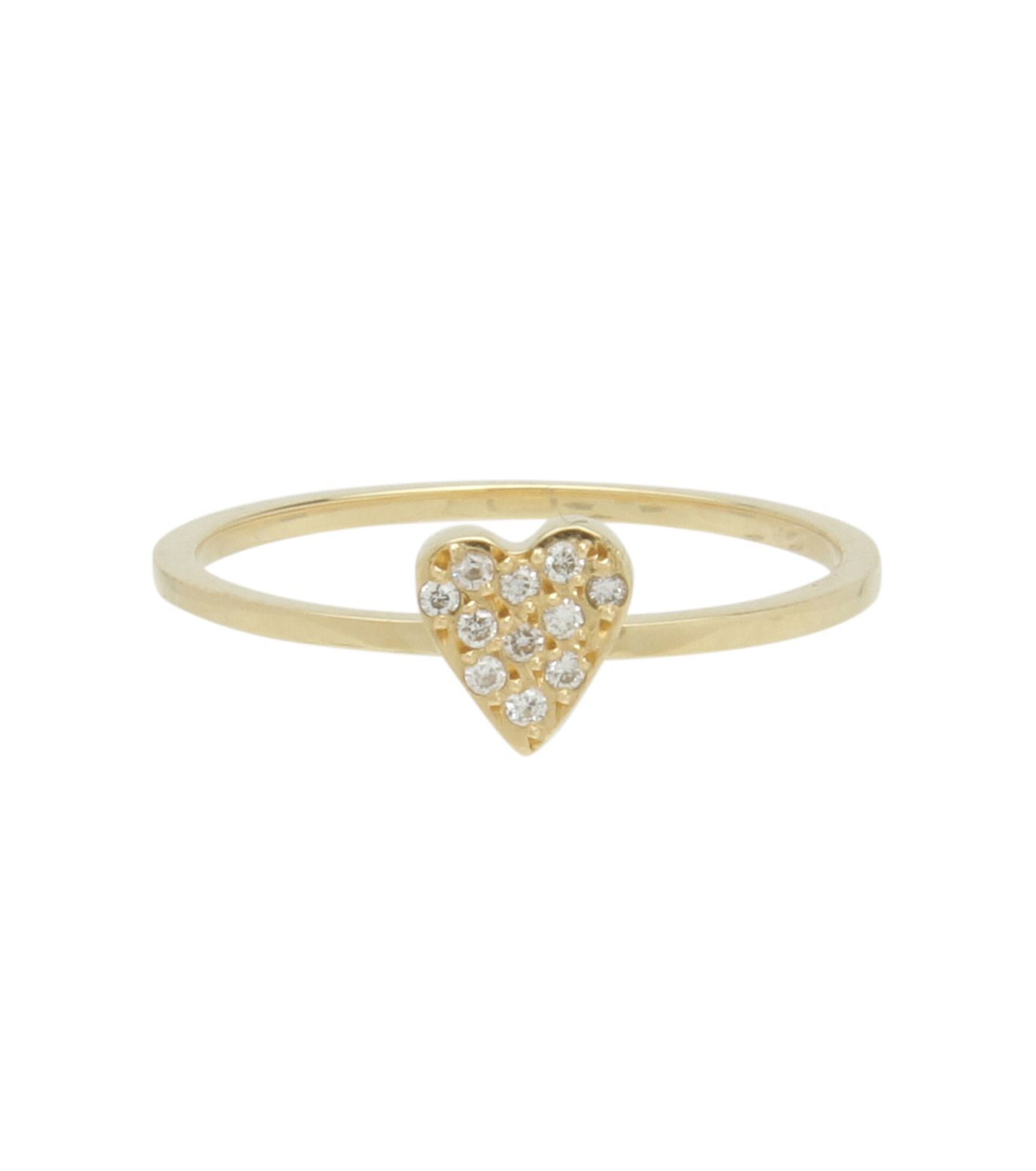 Ileana Makri(イリーナ マクリ)のLove Ring Yellow Gold-Diamond-GOLD(リング/ring)-O272-02-001-2 拡大詳細画像1