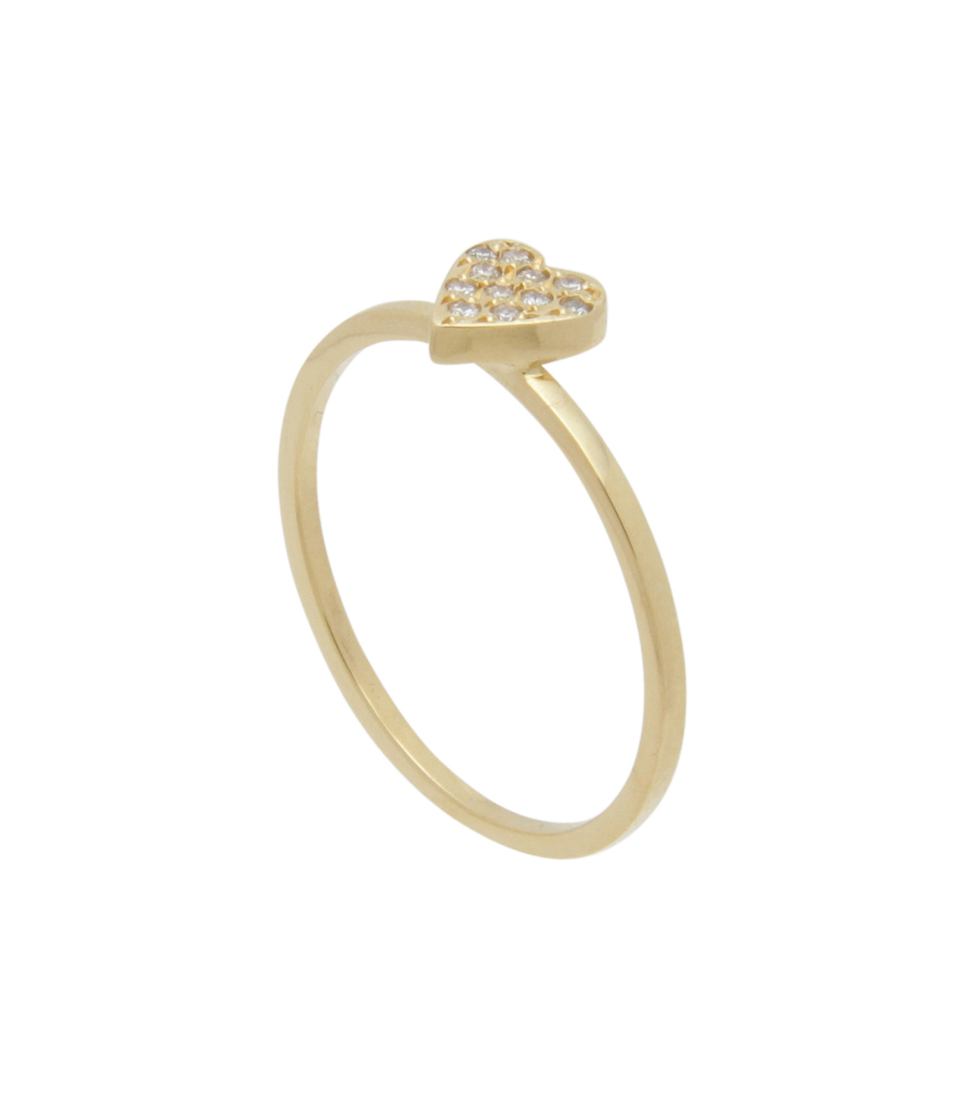 Ileana Makri(イリーナ マクリ)のLove Ring Yellow Gold-Diamond-GOLD(リング/ring)-O272-02-001-2 拡大詳細画像2