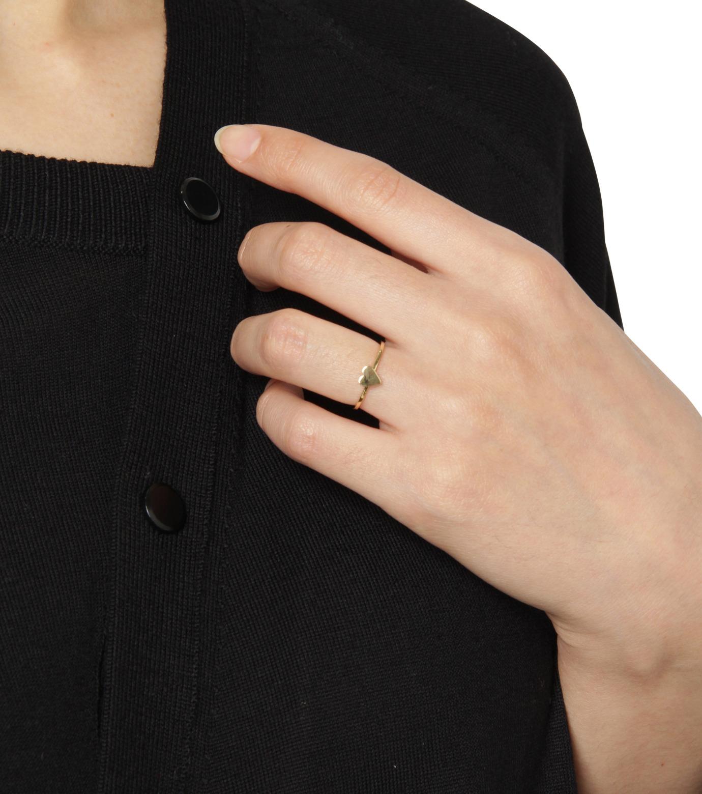 Ileana Makri(イリーナ マクリ)のLove Ring Yellow Gold-YELLOW(リング/ring)-O272-02-099-32 拡大詳細画像4