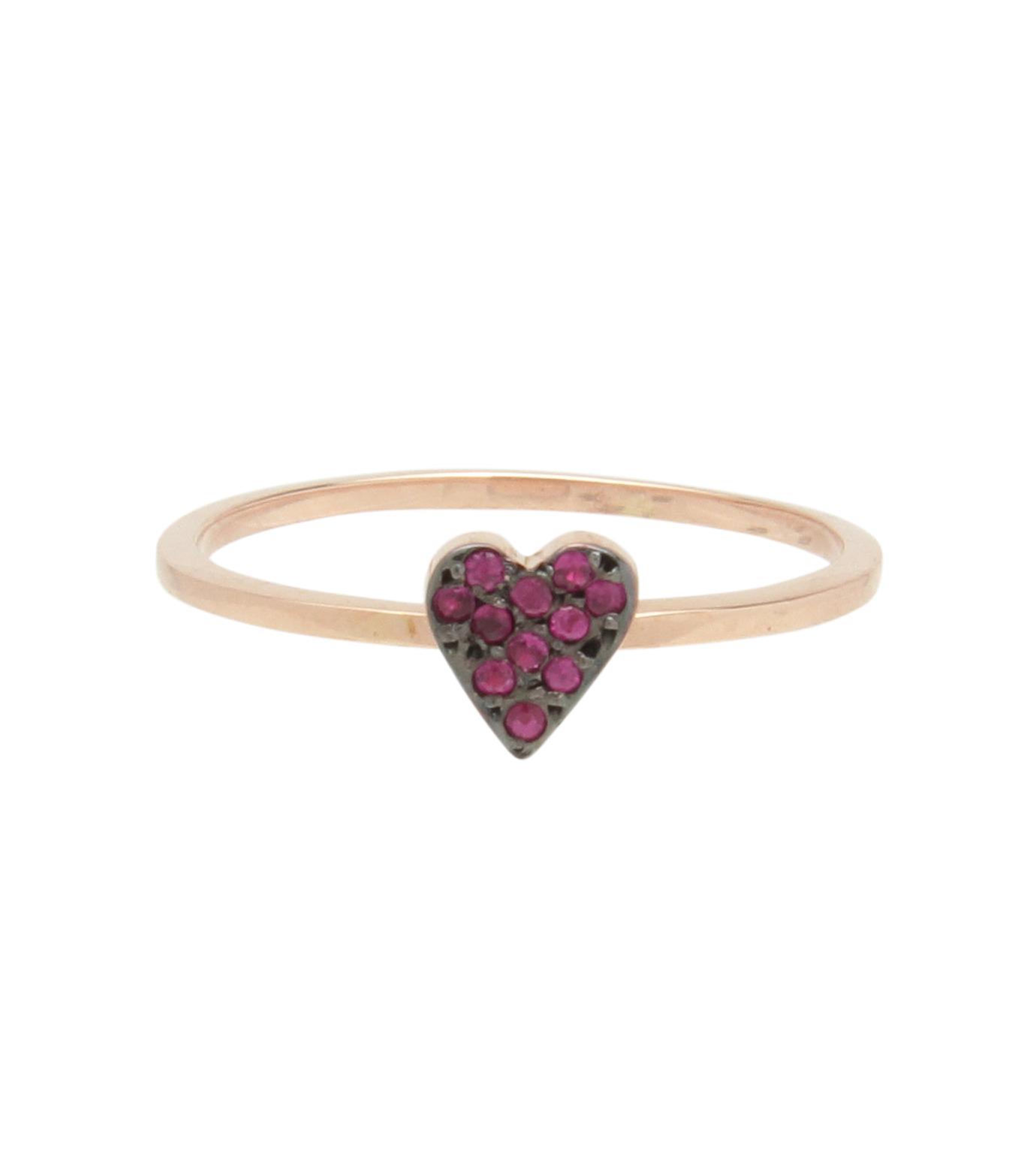 Ileana Makri(イリーナ マクリ)のLove Ring Pink Gold-Ruby-ROSE(リング/ring)-O272-39-006-75 拡大詳細画像1