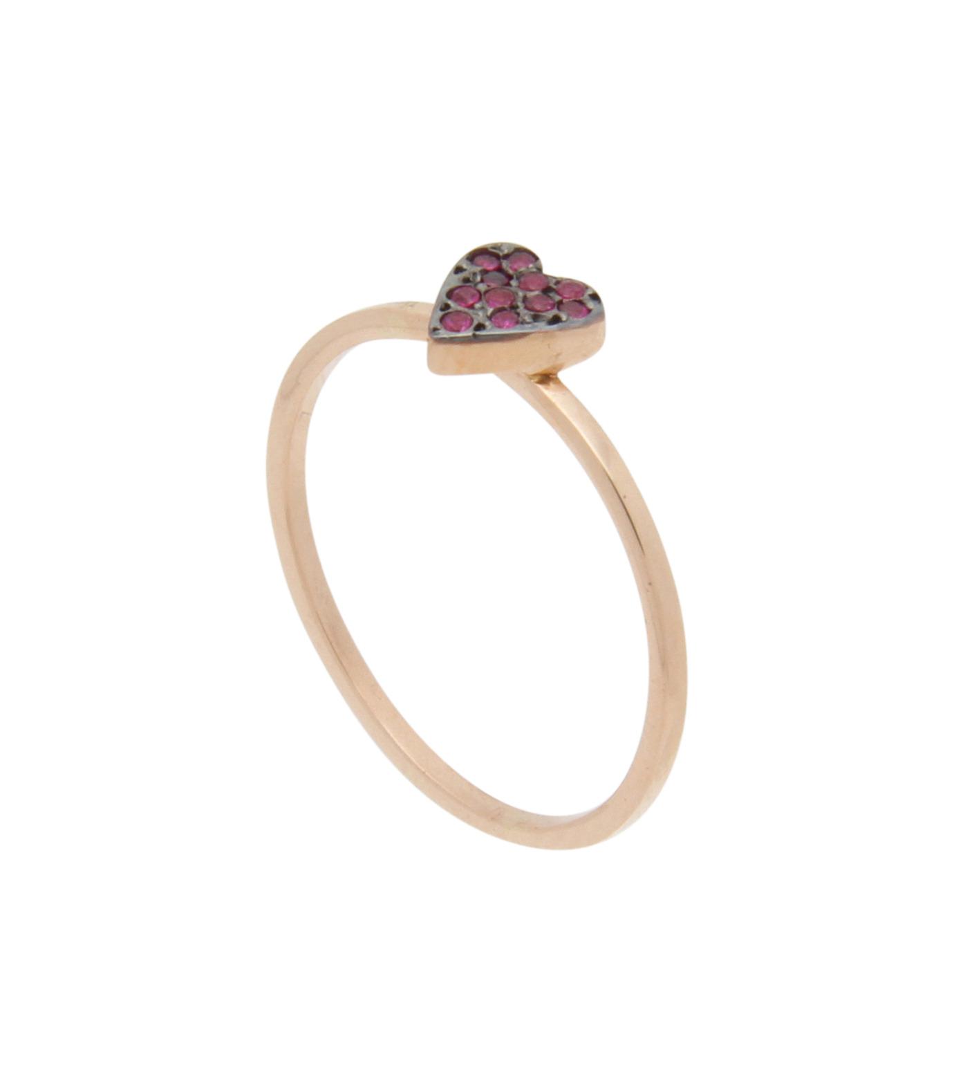 Ileana Makri(イリーナ マクリ)のLove Ring Pink Gold-Ruby-ROSE(リング/ring)-O272-39-006-75 拡大詳細画像2