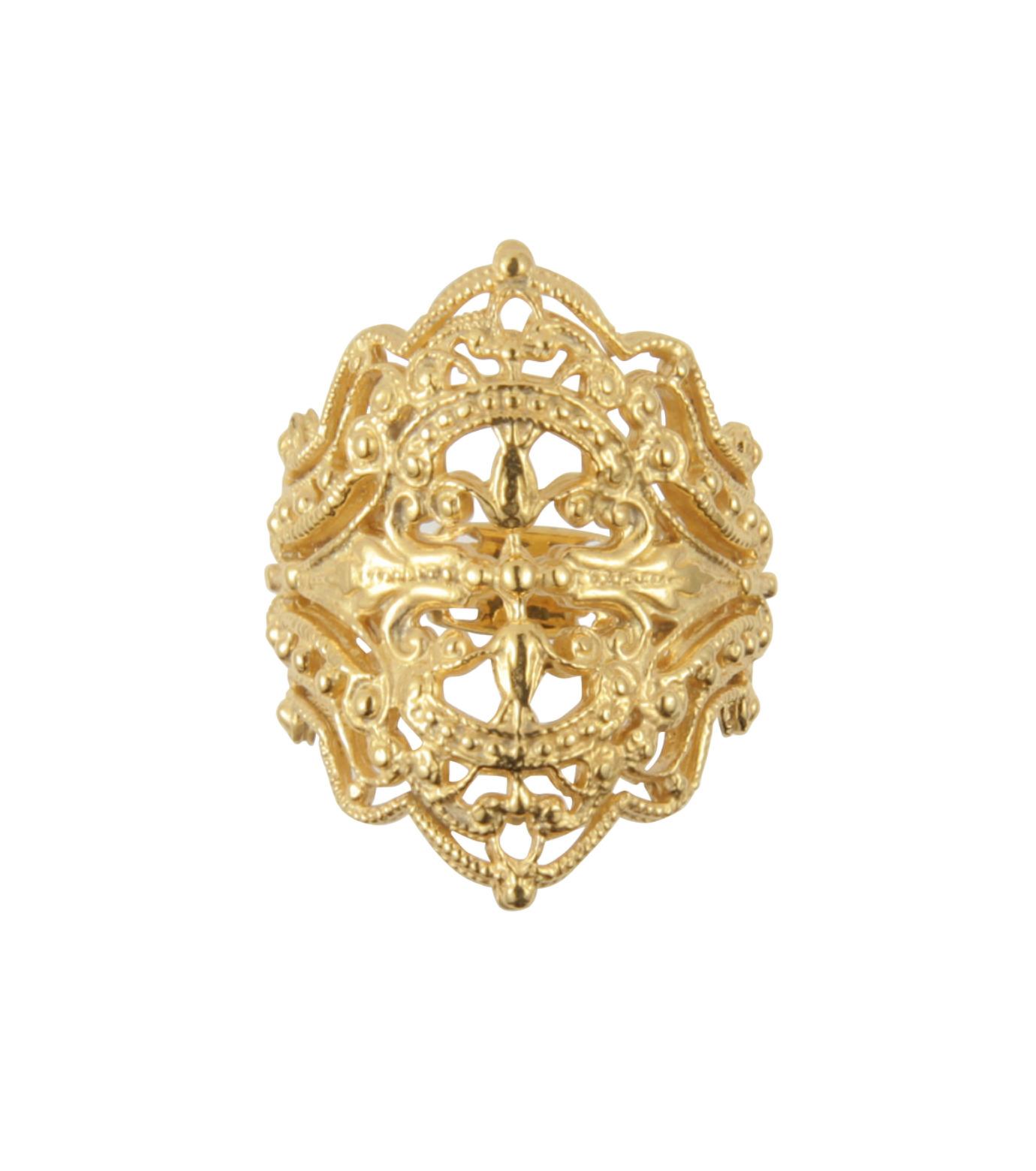 I AM by Ileana Makri(アイ アム バイ イリーナ マクリ)のChantilly Ring-GOLD(リング/ring)-O307-42-099-2 拡大詳細画像1