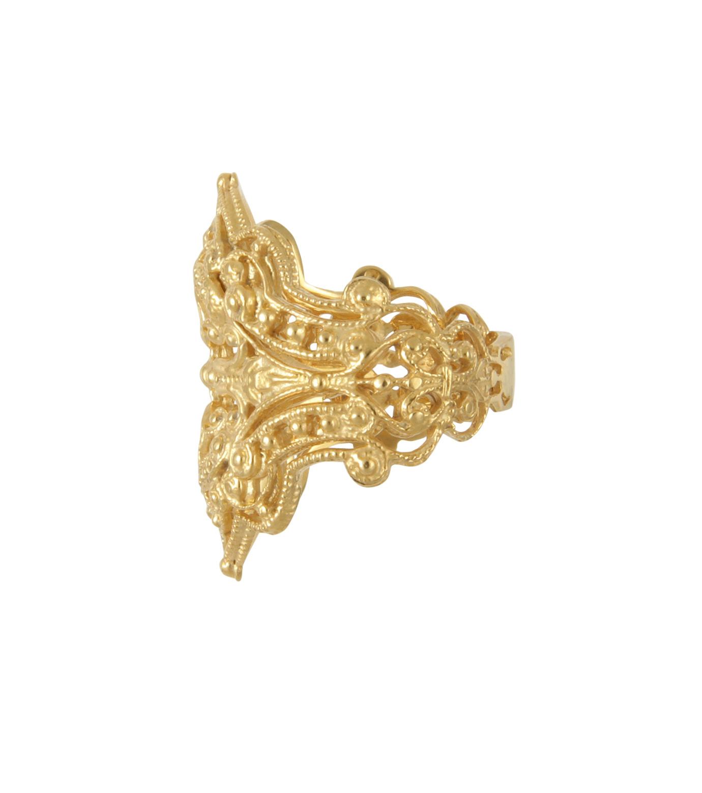I AM by Ileana Makri(アイ アム バイ イリーナ マクリ)のChantilly Ring-GOLD(リング/ring)-O307-42-099-2 拡大詳細画像2