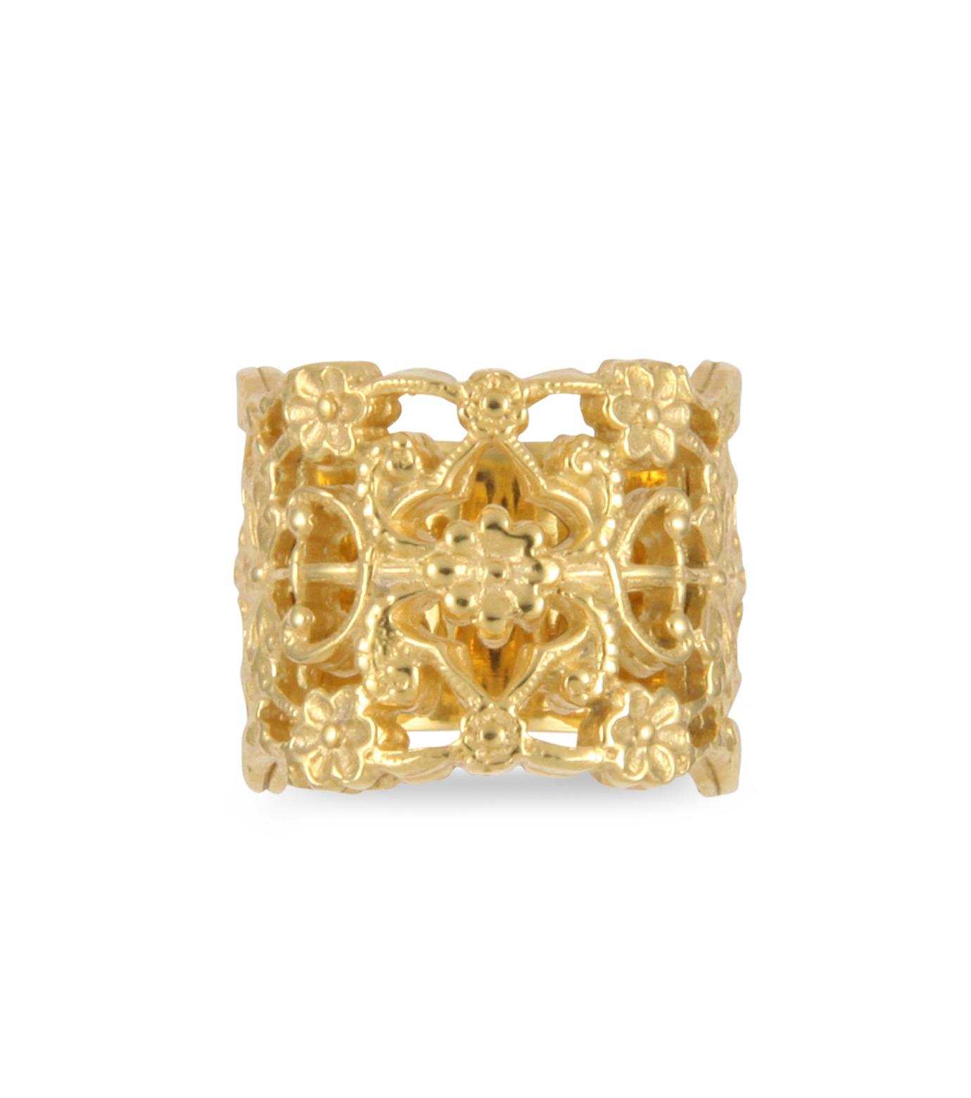 I AM by Ileana Makri(アイ アム バイ イリーナ マクリ)のMaple Flower Ring-GOLD(リング/ring)-O338-42-099-2 拡大詳細画像1