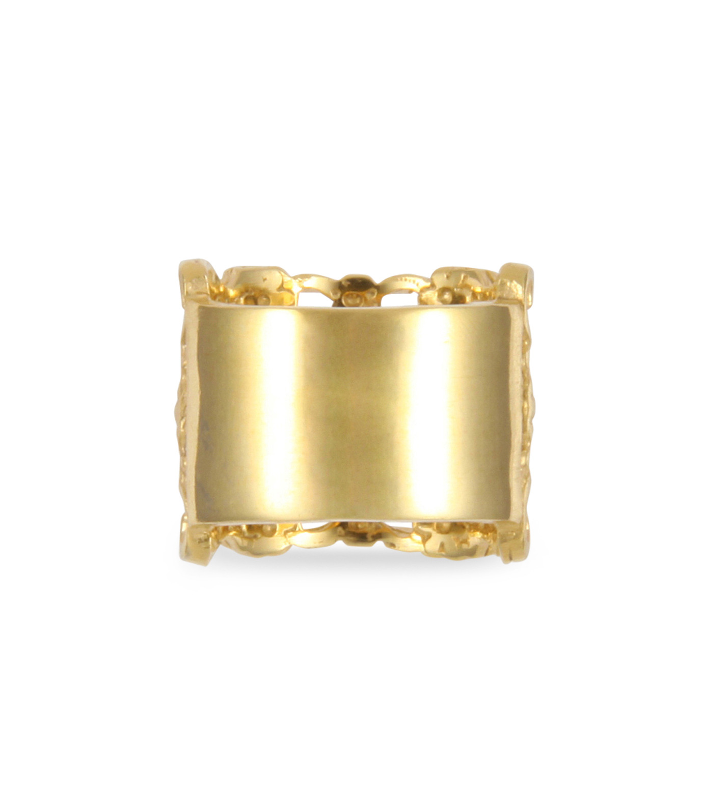 I AM by Ileana Makri(アイ アム バイ イリーナ マクリ)のMaple Flower Ring-GOLD(リング/ring)-O338-42-099-2 拡大詳細画像3