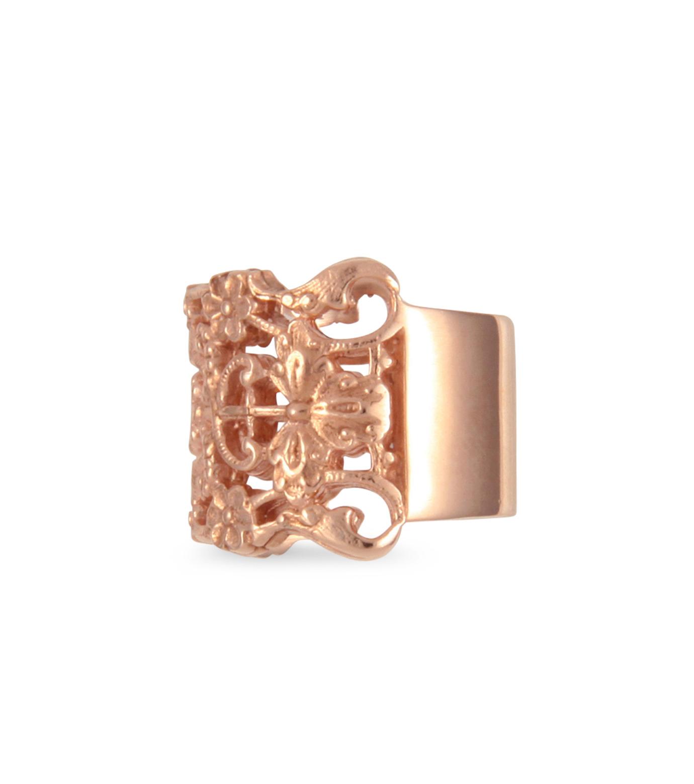 I AM by Ileana Makri(アイ アム バイ イリーナ マクリ)のMaple Flower Ring-ROSE(リング/ring)-O338-43-099-75 拡大詳細画像2