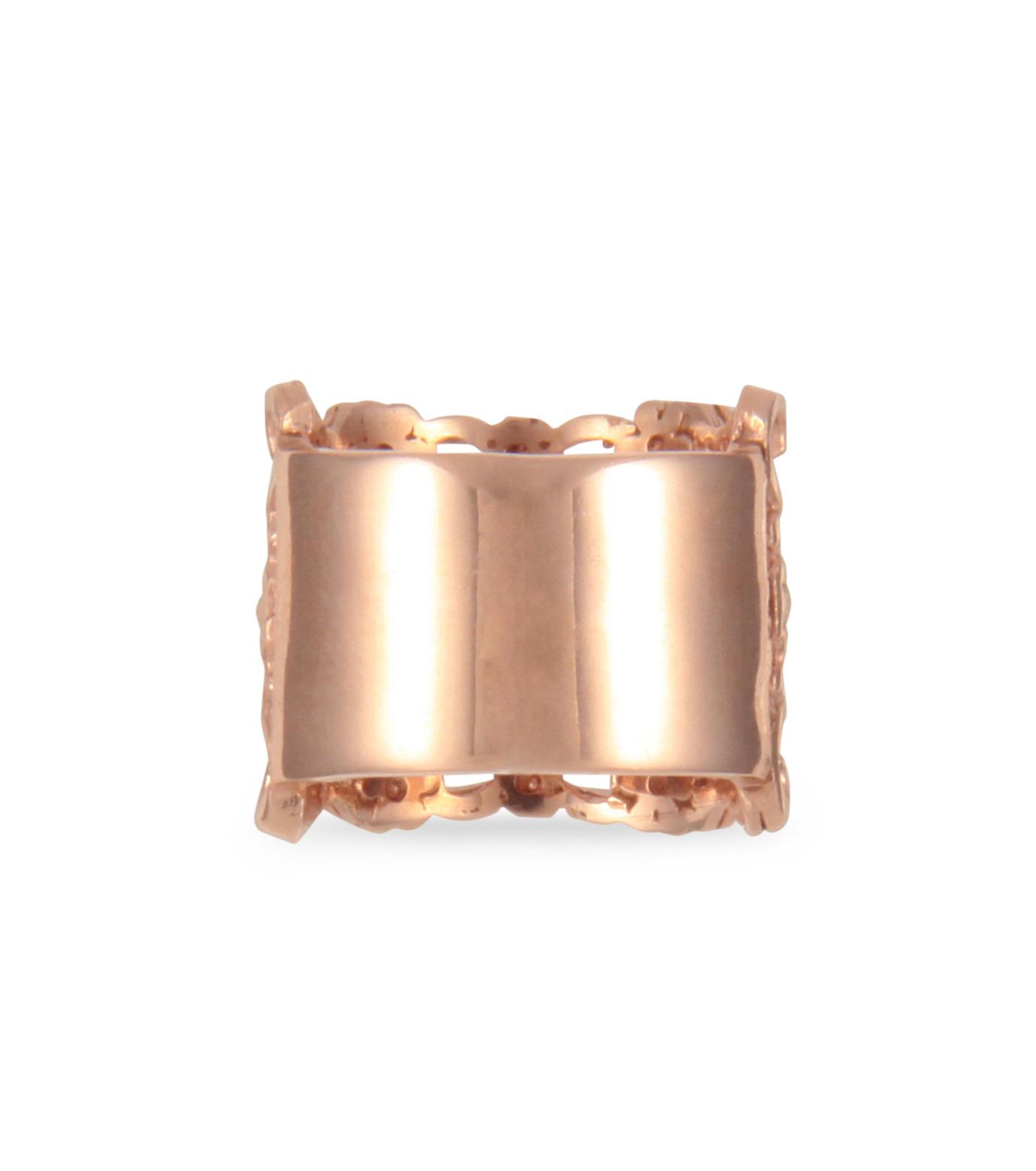 I AM by Ileana Makri(アイ アム バイ イリーナ マクリ)のMaple Flower Ring-ROSE(リング/ring)-O338-43-099-75 拡大詳細画像3