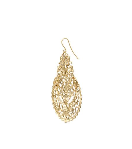 I AM by Ileana Makri(アイ アム バイ イリーナ マクリ)のAntoinette Earrings-GOLD-O489-42-099-2 詳細画像2