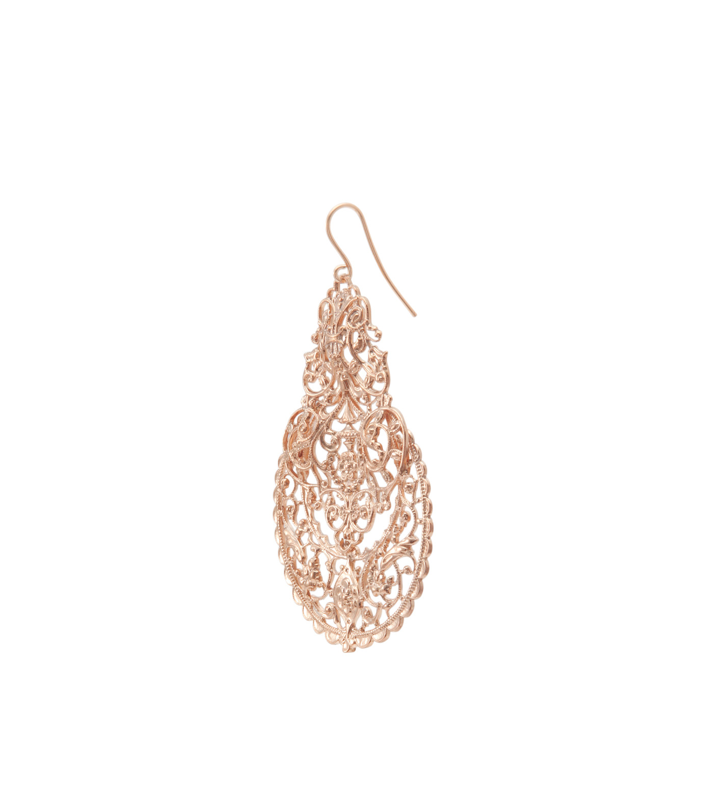 I AM by Ileana Makri(アイ アム バイ イリーナ マクリ)のAntoinette Earrings-ROSE-O489-43-099-75 拡大詳細画像2