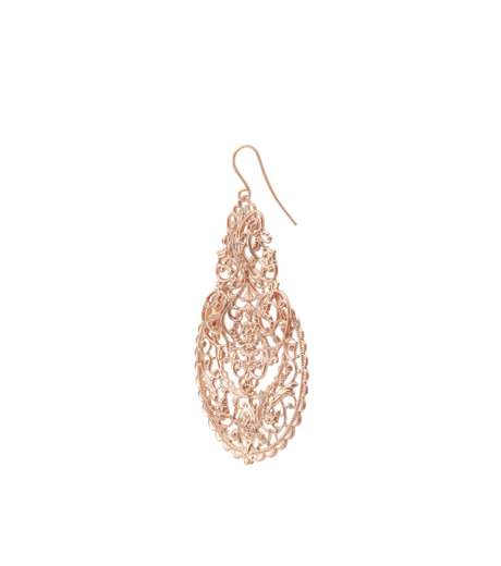 I AM by Ileana Makri(アイ アム バイ イリーナ マクリ)のAntoinette Earrings-ROSE-O489-43-099-75 詳細画像2