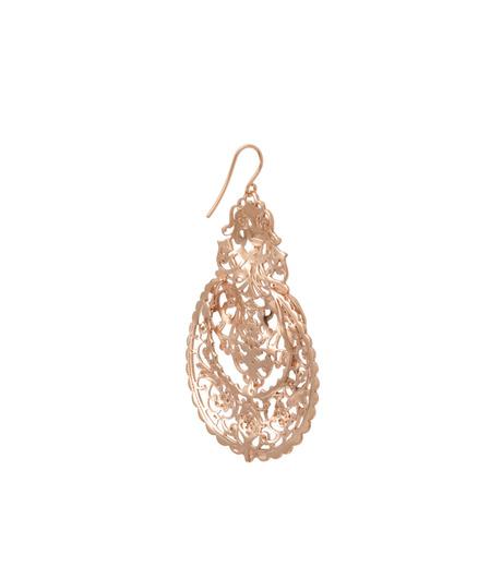 I AM by Ileana Makri(アイ アム バイ イリーナ マクリ)のAntoinette Earrings-ROSE-O489-43-099-75 詳細画像3