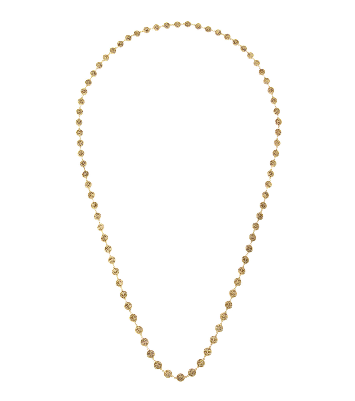 I AM by Ileana Makri(アイ アム バイ イリーナ マクリ)のAntoinette Necklace-GOLD(ネックレス/necklace)-O804-61-099-2 拡大詳細画像1