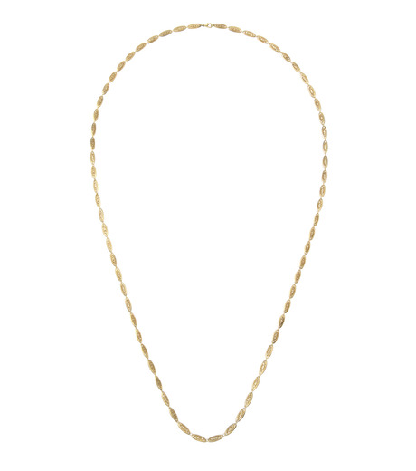 I AM by Ileana Makri(アイ アム バイ イリーナ マクリ)のChantilly Single Necklace Ellipse-GOLD(ネックレス/necklace)-O842-61-099-2 詳細画像1