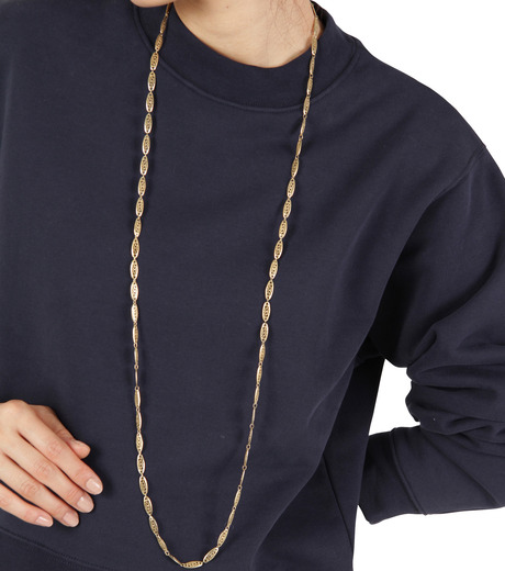 I AM by Ileana Makri(アイ アム バイ イリーナ マクリ)のChantilly Single Necklace Ellipse-GOLD(ネックレス/necklace)-O842-61-099-2 詳細画像3