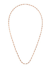 I AM by Ileana Makri Chantilly Single Necklace Ellipse