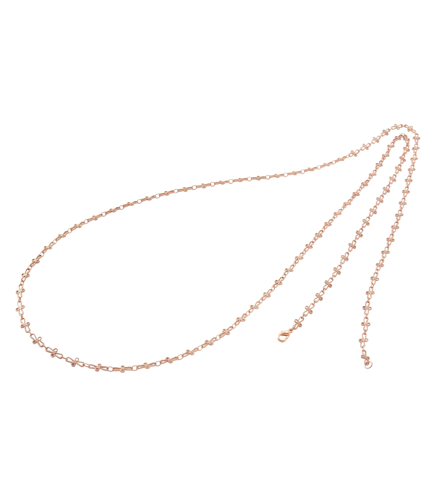 I AM by Ileana Makri(アイ アム バイ イリーナ マクリ)のTrianon Single Necklace Cross-ROSE(ネックレス/necklace)-O844-62-099-75 拡大詳細画像2
