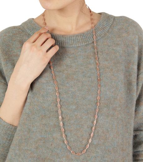 I AM by Ileana Makri(アイ アム バイ イリーナ マクリ)のAntoinette Single Necklace-ROSE(ネックレス/necklace)-O848-62-099-75 詳細画像3