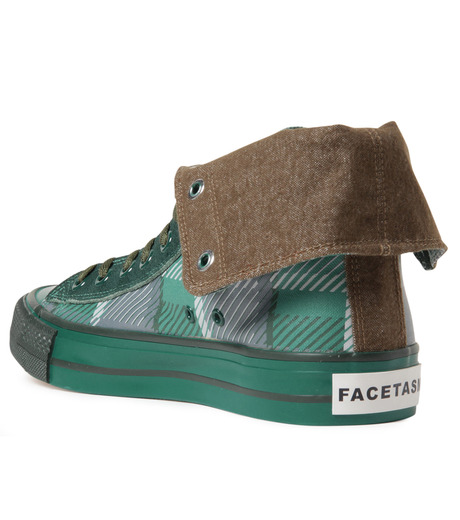 Facetasm(ファセッタズム)のTurn Down Shifted Shoes-GREEN(シューズ/shoes)-OA-SHO-W03-22 詳細画像3