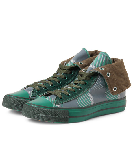 Facetasm(ファセッタズム)のTurn Down Shifted Shoes-GREEN(シューズ/shoes)-OA-SHO-W03-22 詳細画像4