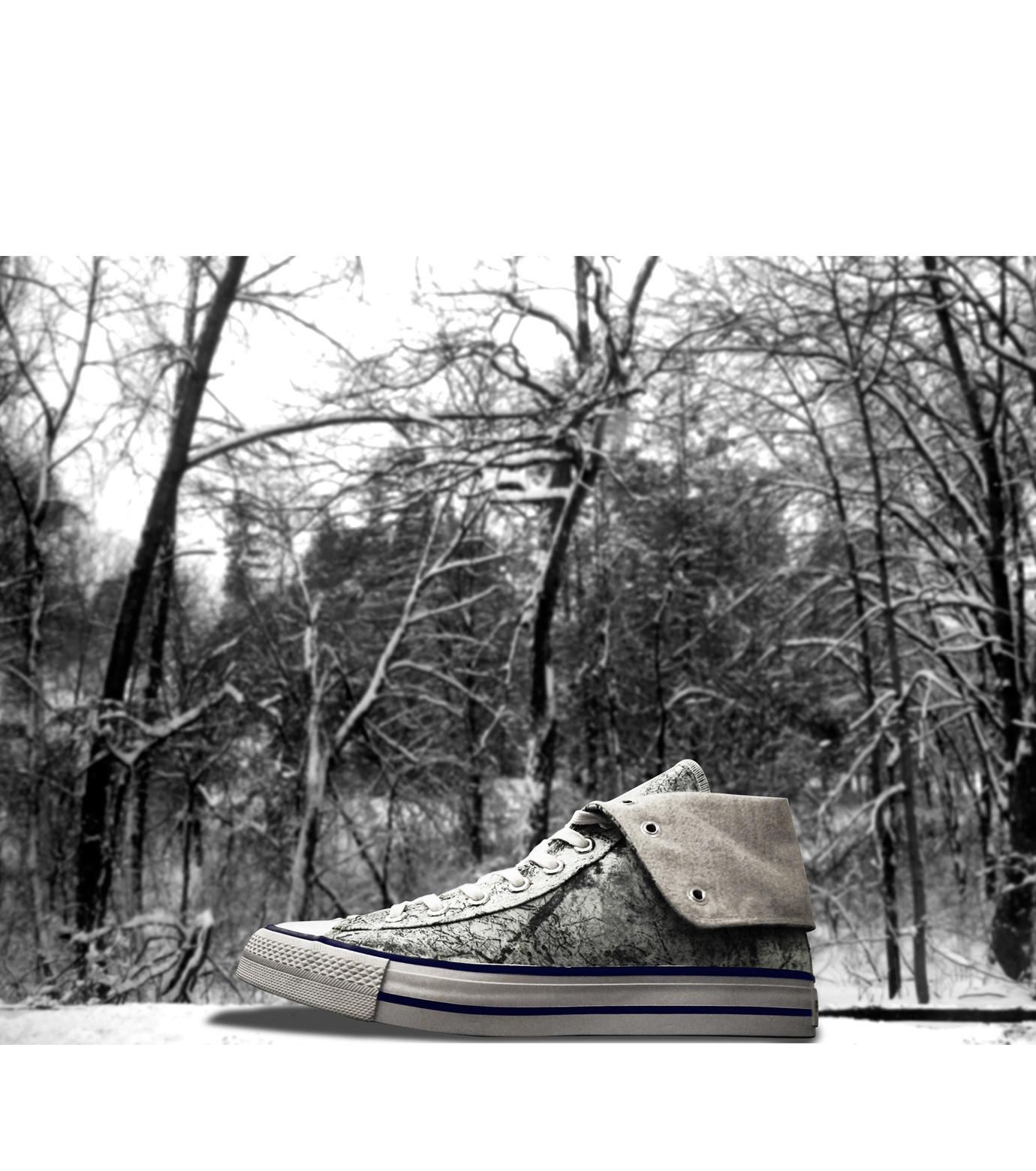 Facetasm(ファセッタズム)のRESTIR EXCLUSIVE SNEAKERS-LIGHT GRAY(シューズ/shoes)-OA-SHO-WS-10 拡大詳細画像1