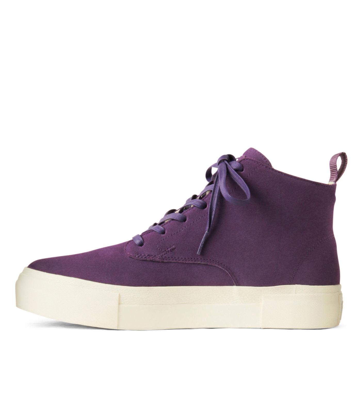 Eytys(エイティーズ)のSuedeHicutSneaker-PURPLE(スニーカー/sneaker)-ODYSSEY-SUE-82 拡大詳細画像2