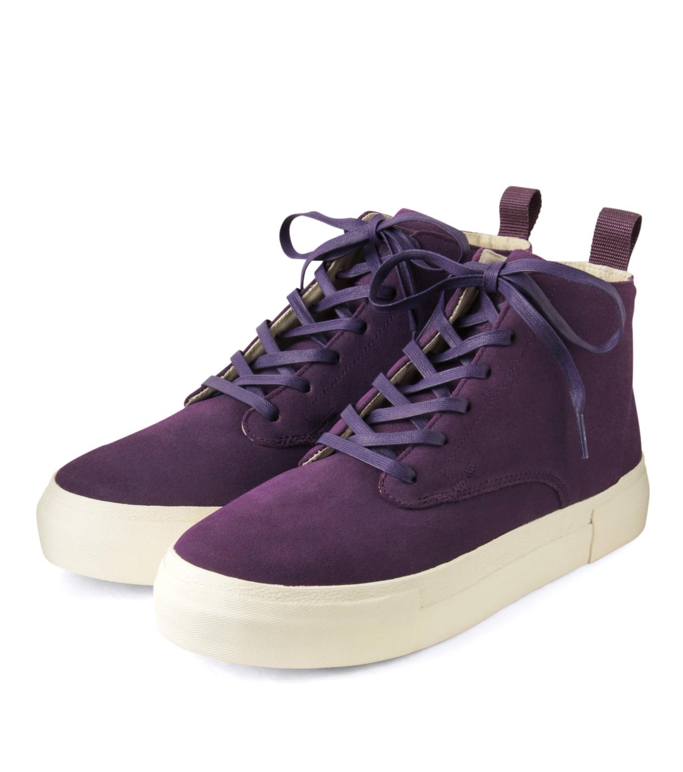 Eytys(エイティーズ)のSuedeHicutSneaker-PURPLE(スニーカー/sneaker)-ODYSSEY-SUE-82 拡大詳細画像4