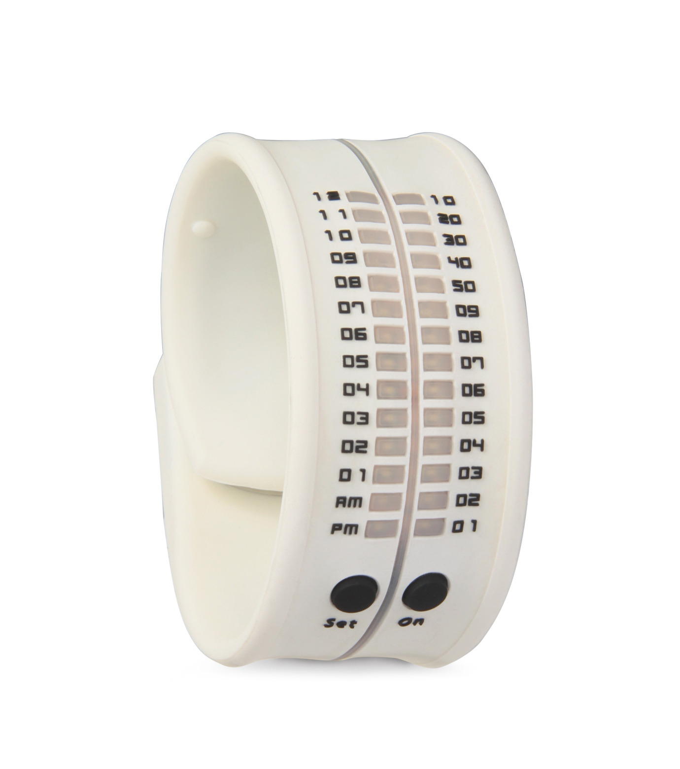 ORT()のLED silicon watch-WHITE(ウォッチ/watch)-ORT-4 拡大詳細画像1