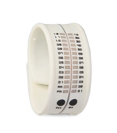 ORT()のLED silicon watch-WHITE(ウォッチ/watch)-ORT-4 詳細画像1