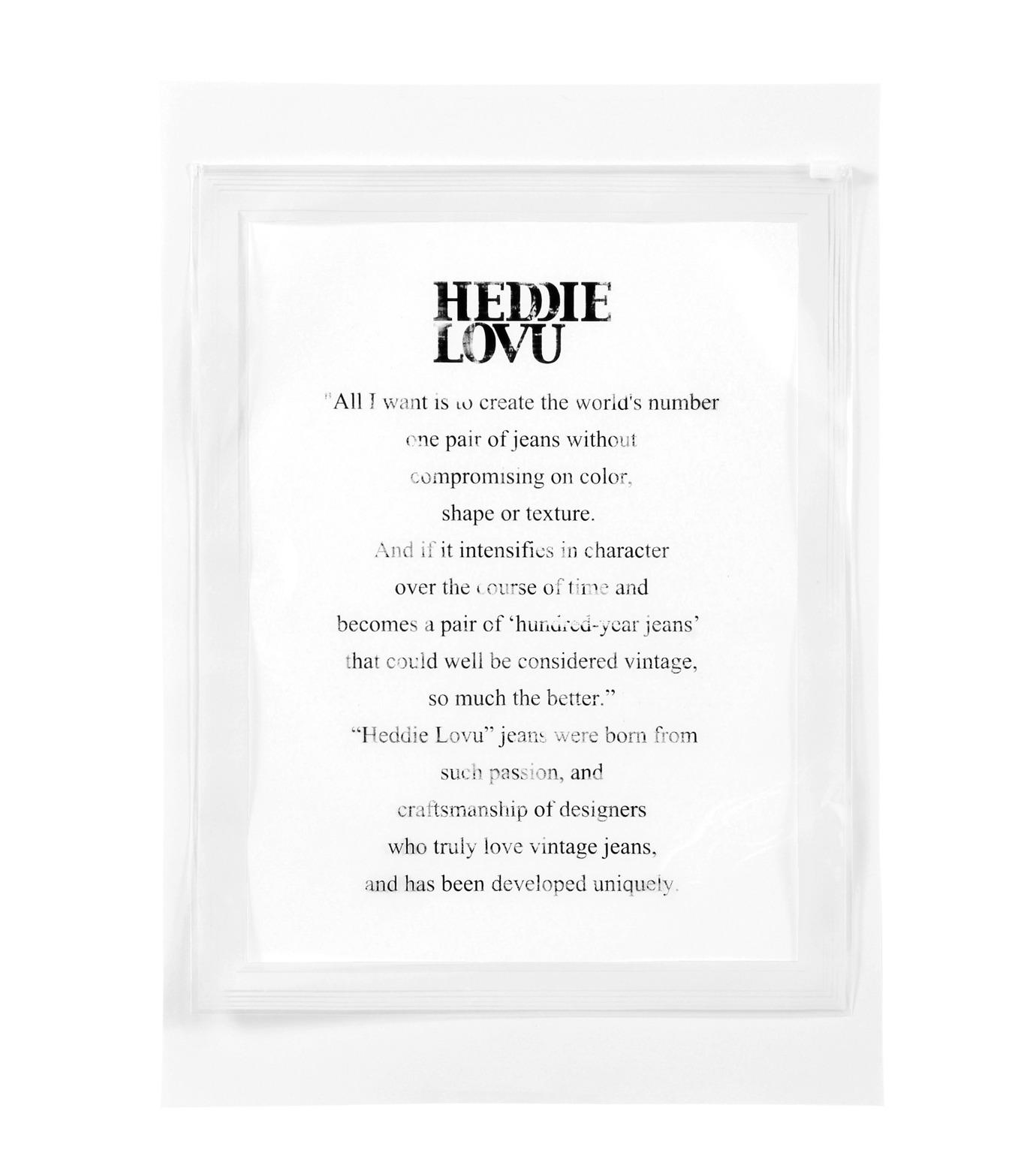 Heddie Lovu(エディー ルーヴ)のOrganic jungle-LIGHT BLUE(カットソー/cut and sewn)-OT-M1-01-14A-91 拡大詳細画像3