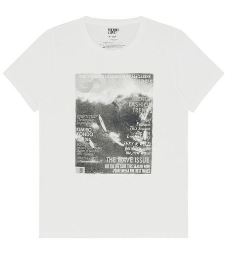 Heddie Lovu(エディー ルーヴ)のOrganic waimea-WHITE(カットソー/cut and sewn)-OT-M1-02-14A-4 詳細画像1