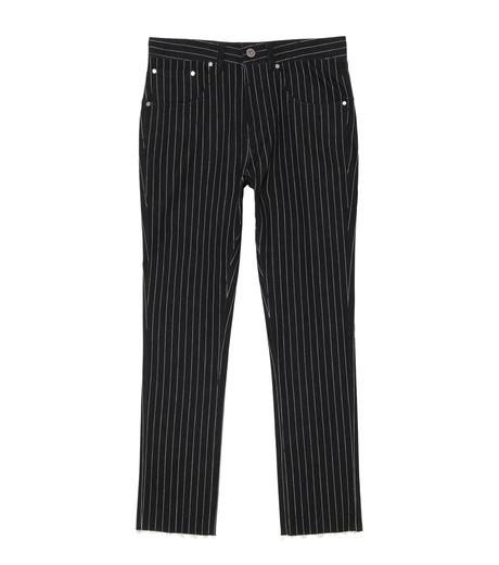 MUNSOO KWON()のStripe Denim Pants-BLACK(デニム/denim)-P089-13 詳細画像1