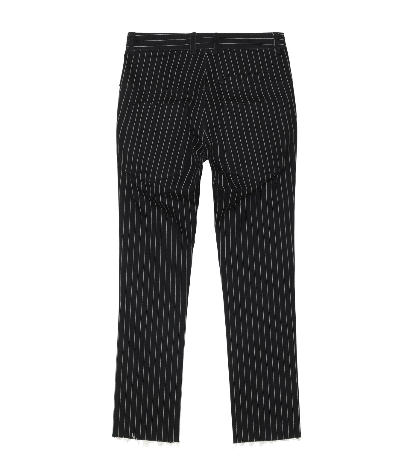 MUNSOO KWON()のStripe Denim Pants-BLACK(デニム/denim)-P089-13 拡大詳細画像2