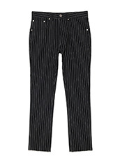 MUNSOO KWON Stripe Denim Pants