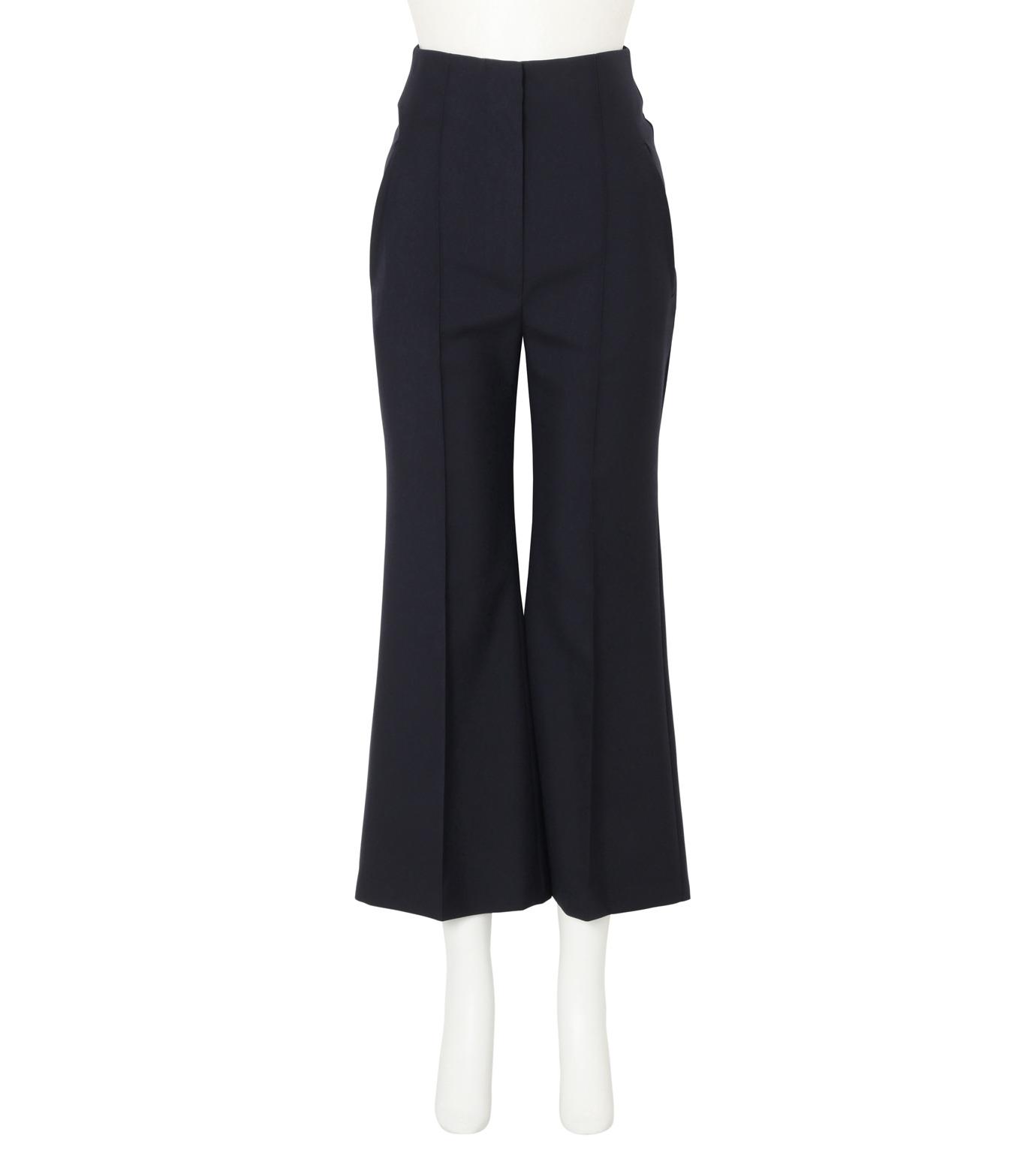 Roksanda(ロクサンダ)のDana Flared Leg Trouser-NAVY(パンツ/pants)-P134-3-93 拡大詳細画像1