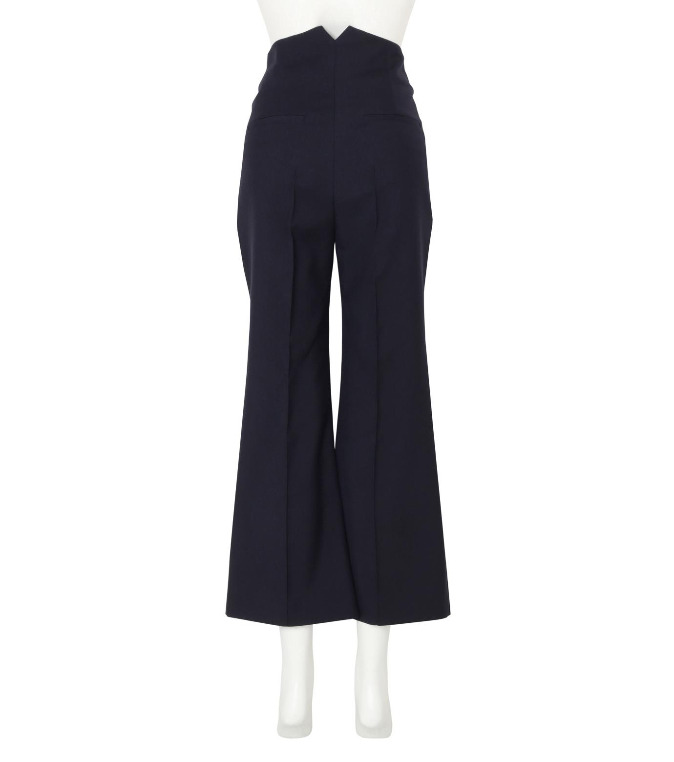 Roksanda(ロクサンダ)のDana Flared Leg Trouser-NAVY(パンツ/pants)-P134-3-93 拡大詳細画像2