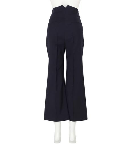 Roksanda(ロクサンダ)のDana Flared Leg Trouser-NAVY(パンツ/pants)-P134-3-93 詳細画像2