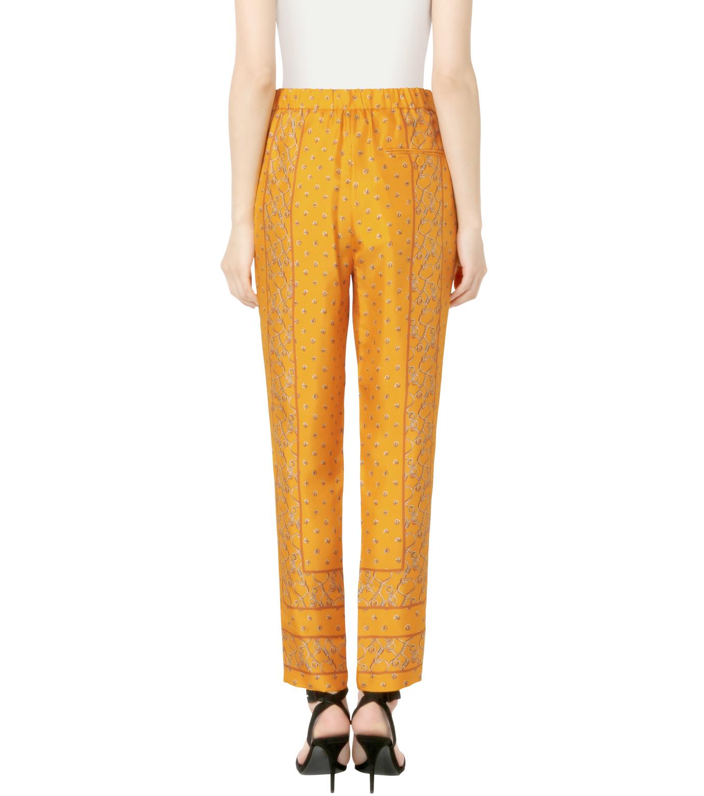 3.1 Phillip Lim(スリーワン フィリップリム)のScarf Print Tapered Trouser-YELLOW(パンツ/pants)-P161-5447BKP-32 拡大詳細画像2