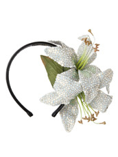 Piers Atkinson Swarovski Crystal Encrusted Lilyes