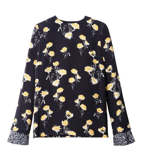 Mother of Pearl(マザー オブ パール)のHester Pleated Cuff Top-BLACK(トップス/tops)-PAW16-3341-13 詳細画像1