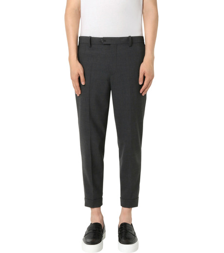Neil Barrett(ニール バレット)のStretch Zip Pants-GRAY(パンツ/pants)-PBPA147H-11 詳細画像1