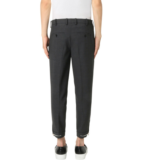 Neil Barrett(ニール バレット)のStretch Zip Pants-GRAY(パンツ/pants)-PBPA147H-11 詳細画像2