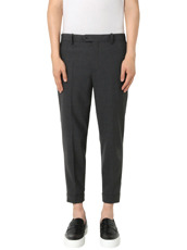 Neil Barrett Stretch Zip Pants