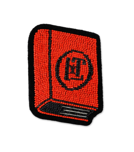 Olympia Le-Tan(オリンピア ルタン)のPatches Book-RED(アクセサリー/accessory)-PF16APA001-62 詳細画像1