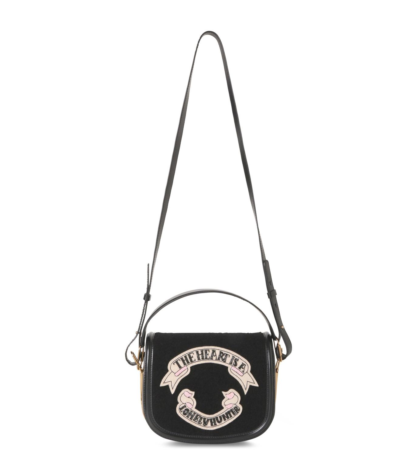 Olympia Le-Tan(オリンピア ルタン)のCarson Velcro-BLACK(ハンドバッグ/hand bag)-PF16BCA002-13 拡大詳細画像1