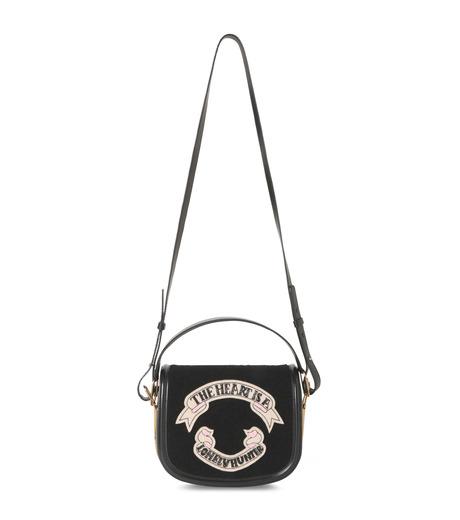 Olympia Le-Tan(オリンピア ルタン)のCarson Velcro-BLACK(ハンドバッグ/hand bag)-PF16BCA002-13 詳細画像1
