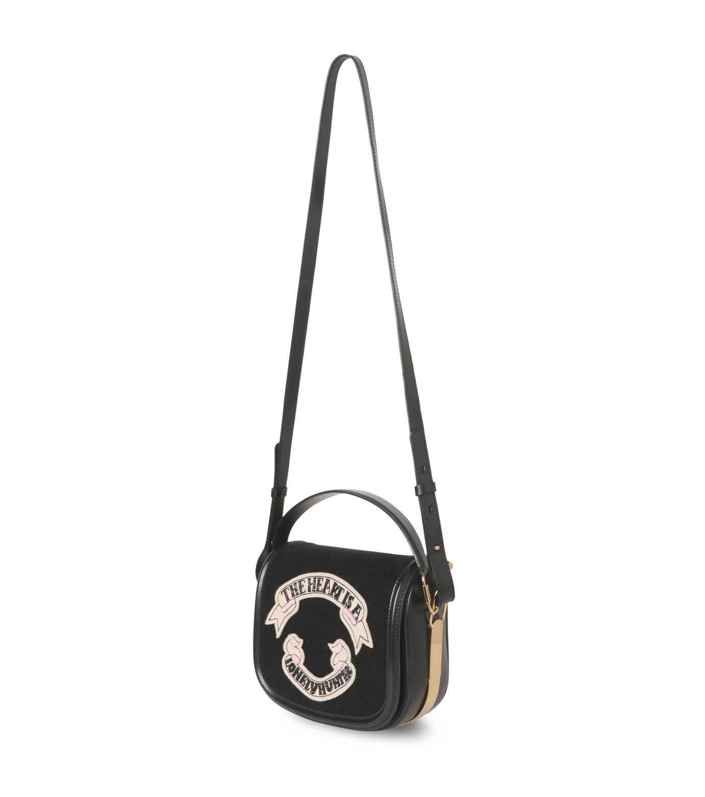 Olympia Le-Tan(オリンピア ルタン)のCarson Velcro-BLACK(ハンドバッグ/hand bag)-PF16BCA002-13 拡大詳細画像2