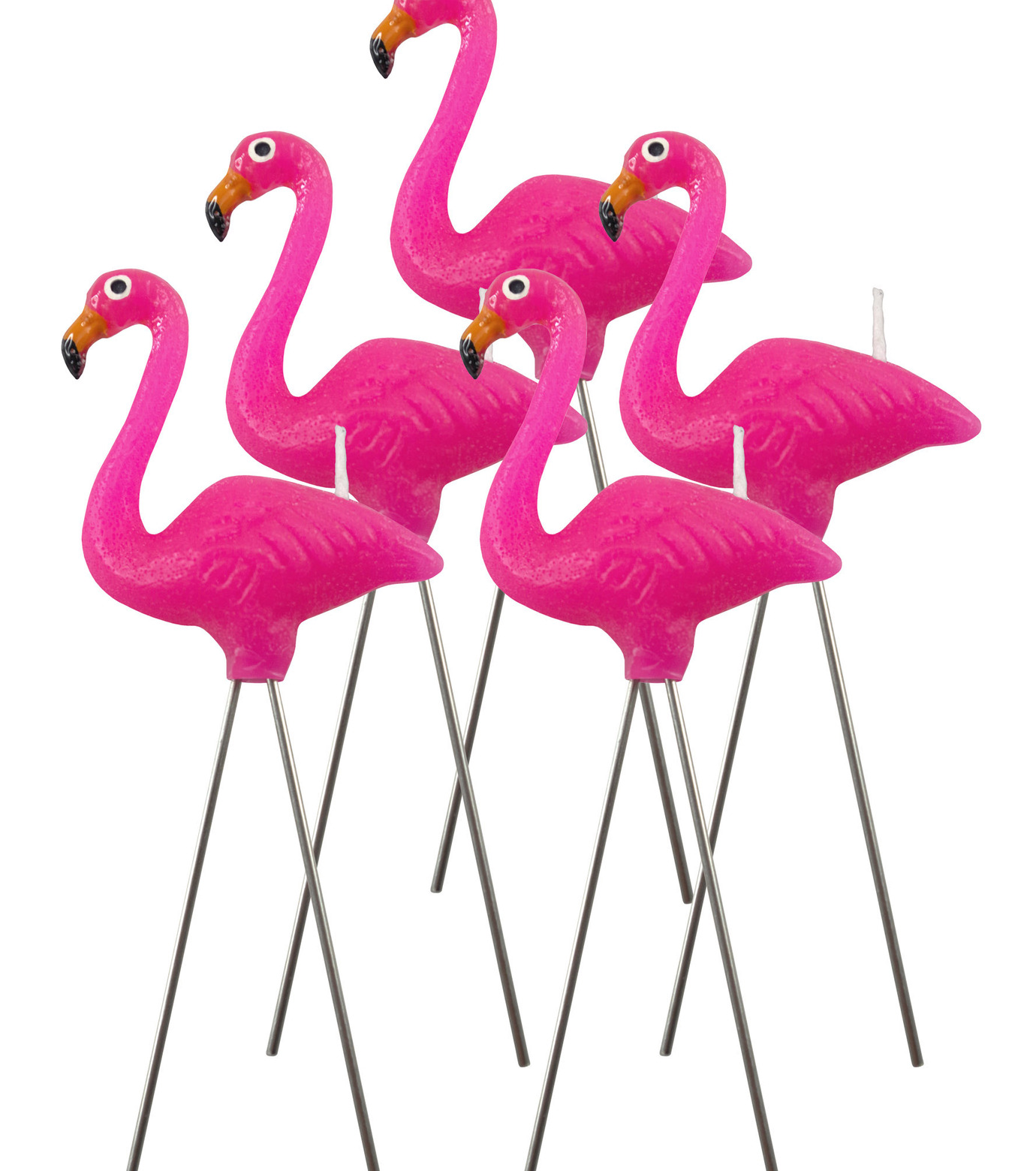 nuop design(ヌオップデザイン)のPink Flamingo Candles-PINK(OTHER-GOODS/OTHER-GOODS)-PFC-72 拡大詳細画像1